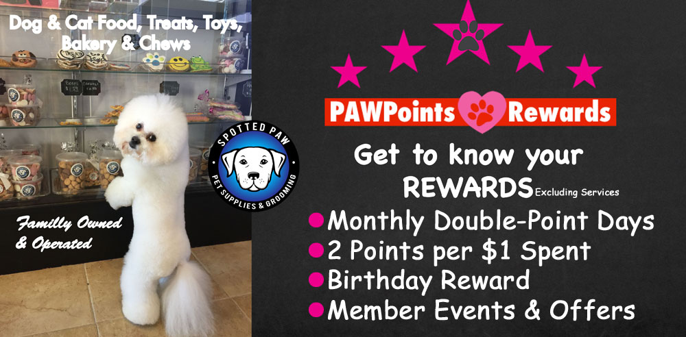 Paw Points Rewards