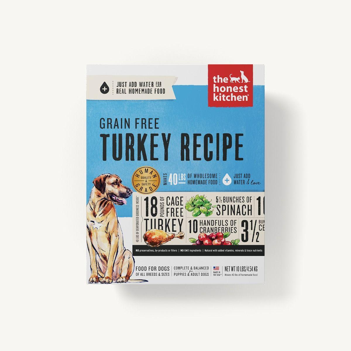Honest Kitchen Embark: GRAIN FREE TURKEY FREEZE DRIED (EMBARK)- The Honest